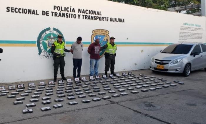 Caen dos con 149 kilos de anfetaminas en Mingueo