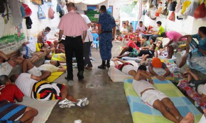 Cárceles del caribe: 13.885 reclusos para 7.763 cupos