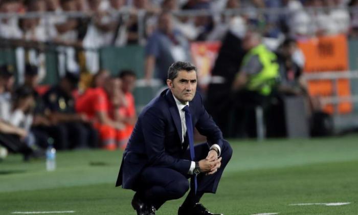"""""""Queremos que Messi vuelva pronto, pero bien"""", dice Valverde"""