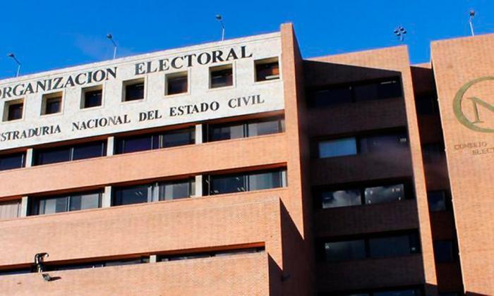 Sede del Consejo Nacional Electoral (CNE).