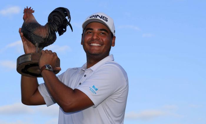 Muñoz hace historia en el golf