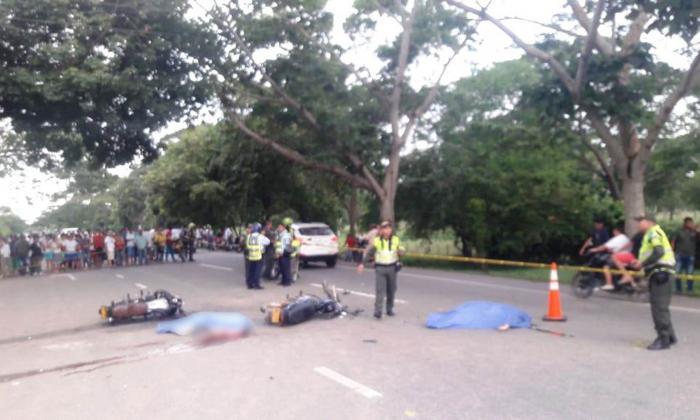 Imprudencia, causa del accidente en caravana que recibió a ganadores del Desafío en Cereté