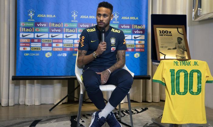 """Neymar asegura que """"ni en los mejores sueños"""" imaginó llegar a los 100 partidos con Brasil"""