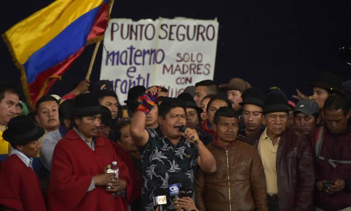 ¿Quiénes son y qué piden?: radiografía de la protesta indígena en Ecuador