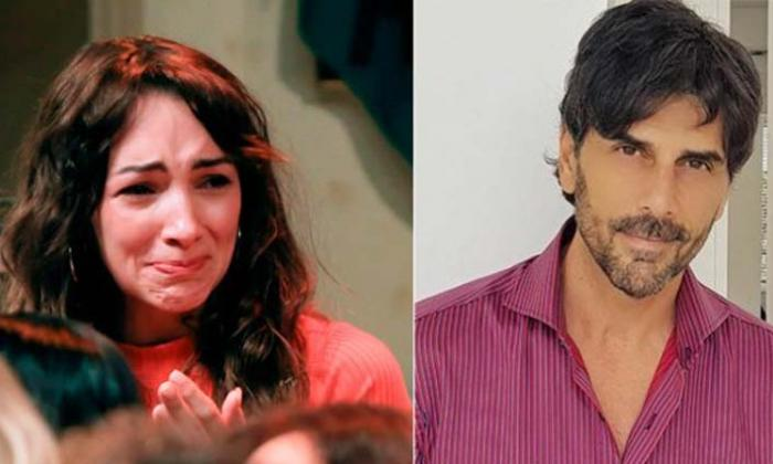 La actriz Thlema Fardín y el acusado Juan Darthés
