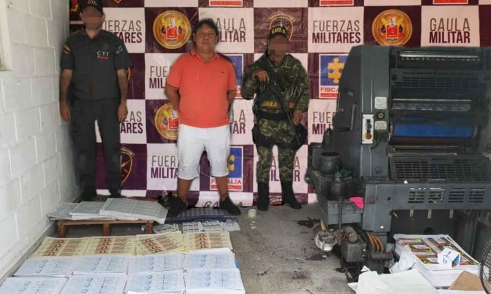En video   Gaula Militar incauta más de mil millones de pesos en billetes falsos
