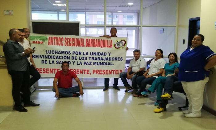 Trabajadores del Cari cierran área administrativa y reclaman pago de salarios