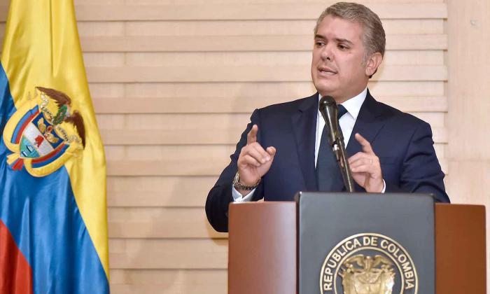 El presidente de la República Iván Duque Márquez.