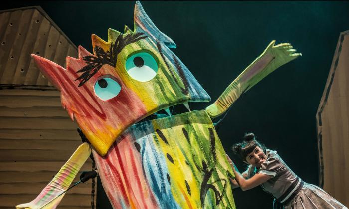 Emoción y color dialogan en pieza teatral para niños