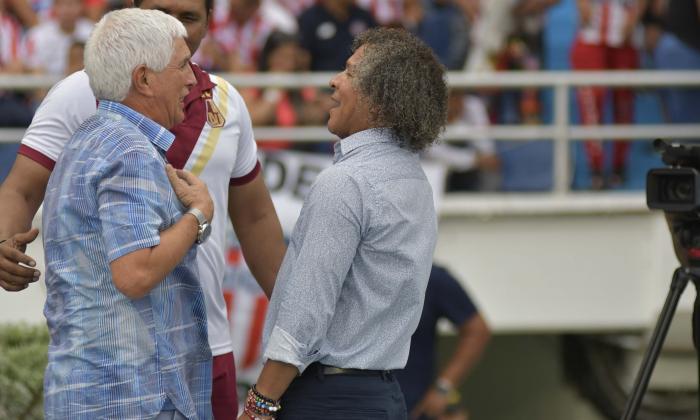 Julio Comesaña y Alberto Gamero.