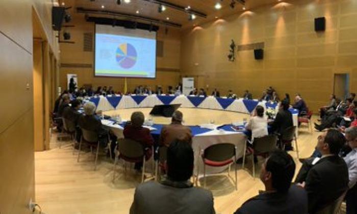 Reunión de la mesa de concertación realizada en la tarde de este martes.