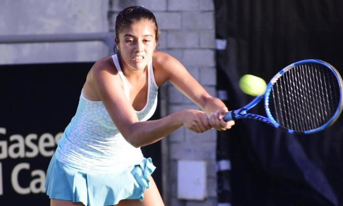Dana Guzmán y Martin Breysach, campeones del Mundial Juvenil de Tenis