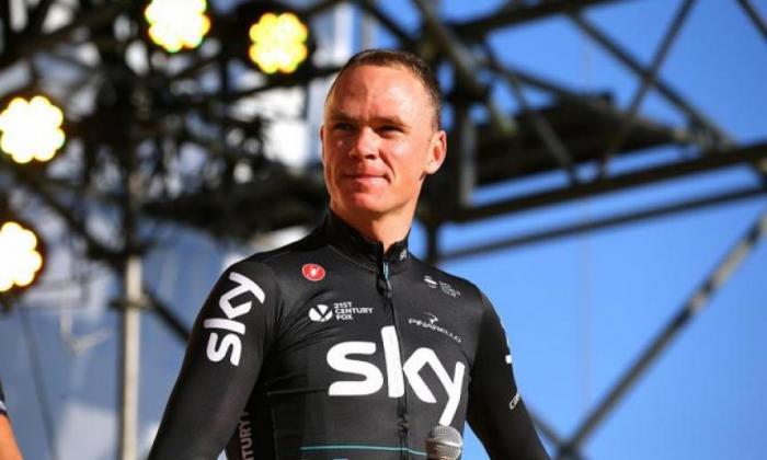 Chris Froome, ciclista británico.