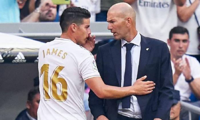 Zidane convoca a James para los octavos de la Copa del Rey ante el Real Zaragoza