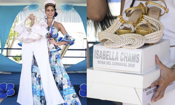 Isabella lucirá la creación este domingo.