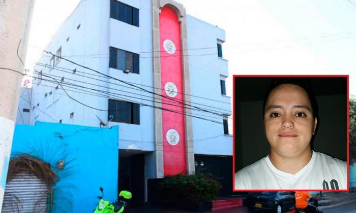 Residencias El Sitio, donde se registró el ataque a bala en contra de Wilber Andrés Salazar Vega (en el recuadro).