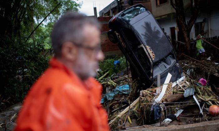 Lluvias dejan varios muertos en Rio de Janeiro