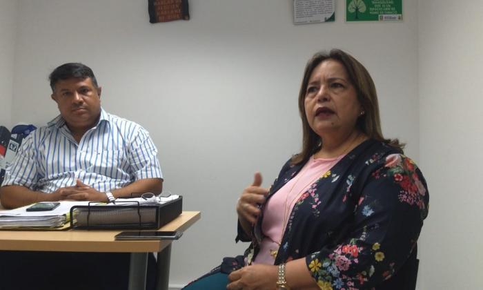 Aida Margarita Ojeda, secretaria de Educación de Soledad.
