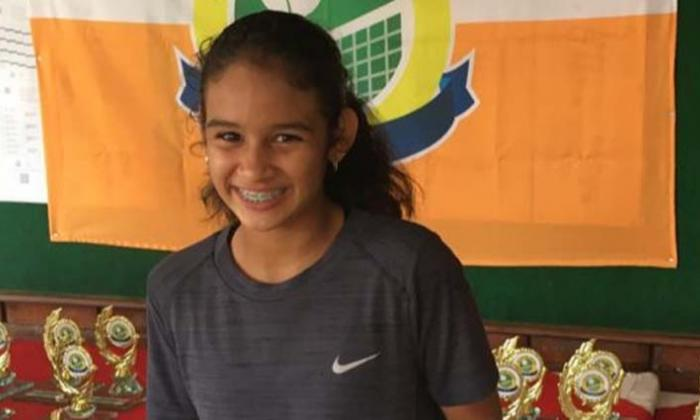 Daniella Franco, con sangre para el tenis