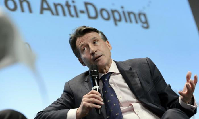 Sebastian Coe, presidente de la Federación Internacional de Atletismo.
