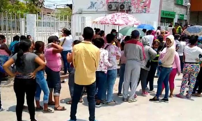 En video | El cobro de Familias en Acción en Ciénaga echó al traste medidas para evitar coronavirus