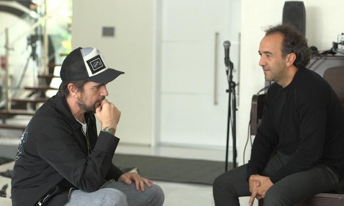 Juanes y Yamid Amat Serna.