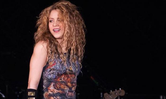 La artista Shakira