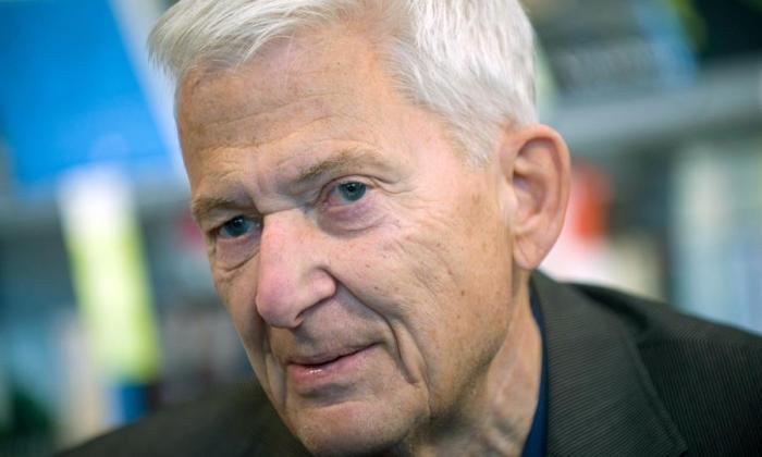El autor nórdico en abril de 2011.