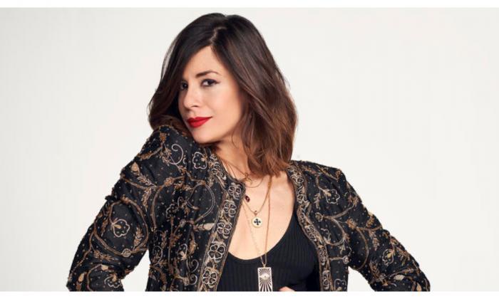La actriz colombiana María Cecilia Sánchez.