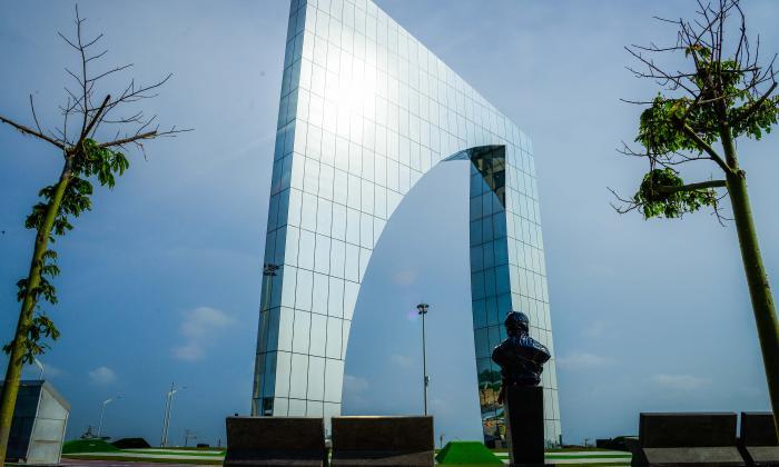 La majestuosidad del monumento es evidente en las imágenes. Sin duda se podrán captar ahí lindos amaneceres y anocheceres.