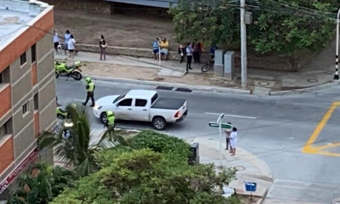 En video | Atraco desató balacera en el norte de Barranquilla