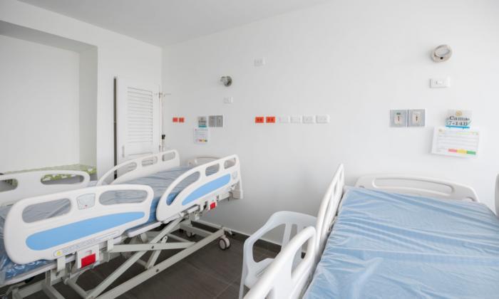 Hospital Universitario del Caribe, en Cartagena.