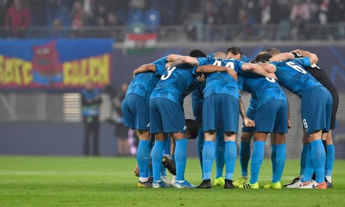 El Zenit lideraba la liga cuando se suspendió el campeonato ruso.
