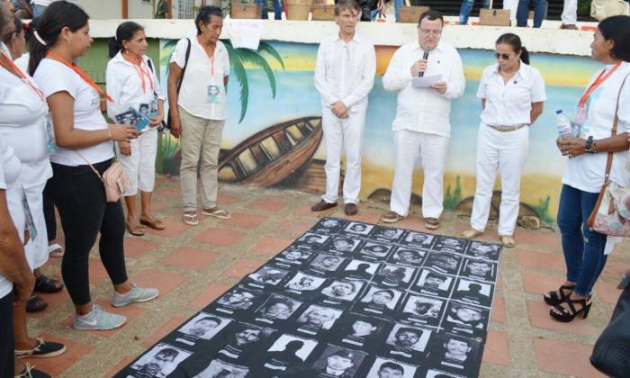 Víctimas de desaparición forzada en Sucre documentan sus casos