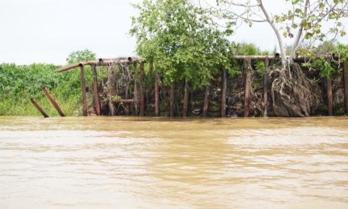 Inspeccionaron puntos críticos en los ríos de la Mojana