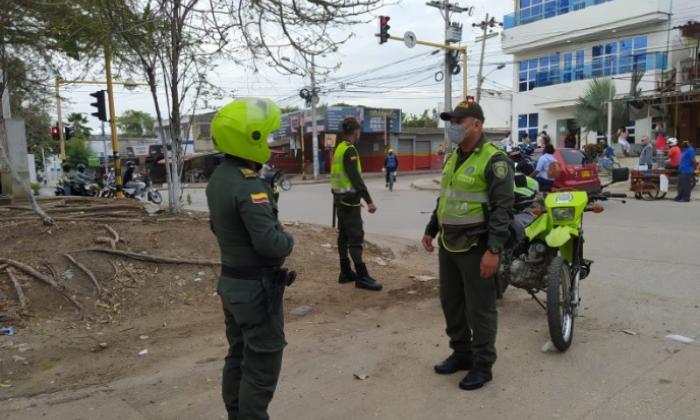 Caen 38 por diferentes delitos y por violar aislamiento en Cartagena