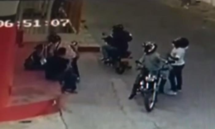 En video   Ladrones no dan tregua, ni en cuarentena