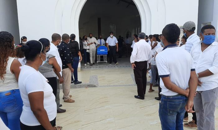 Triste despedida a mujeres que murieron en accidente en Valledupar