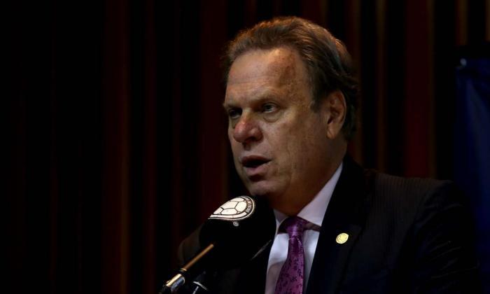 Ramón Jesurun, presidente de la Federación Colombiana de Fútbol, confía en la rigurosidad del protocolo.