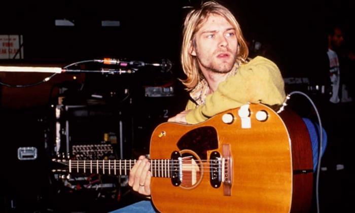 La guitarra de Kurt Cobain en MTV Unplugged supera el millón de dólares