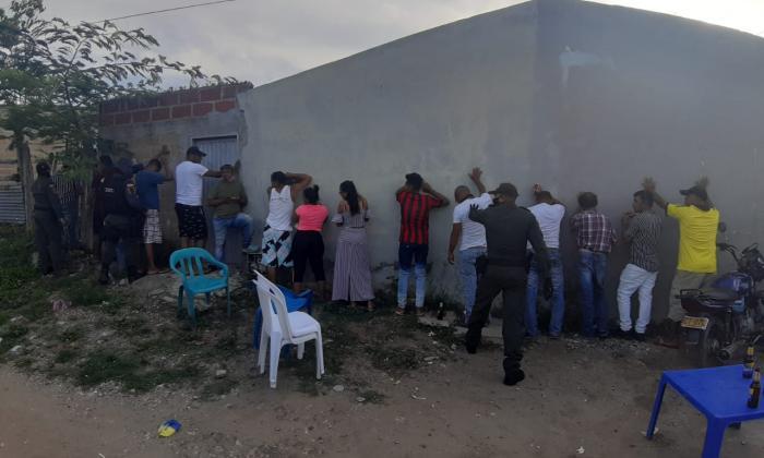 La Policía de Sucre le 'dañó' más de 70 fiestas a los infractores en el puente