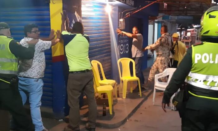 En Riohacha cerraron once establecimientos el puente festivo