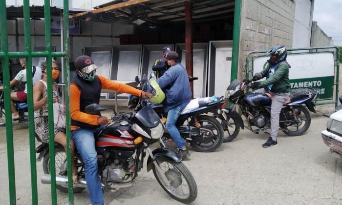 Anuncian cuarentena para el mototaxismo en Sucre