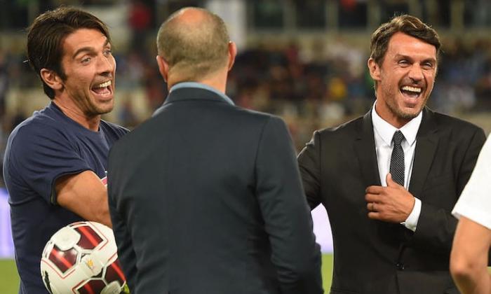 Buffon, de 42 años, supera a Maldini como jugador con más partidos en Serie A