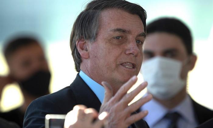 El presidente de Brasil Jair Bolsonaro.