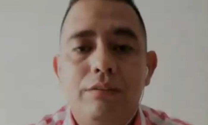 El sargento (r) del Ejército, Juan Carlos Díaz.