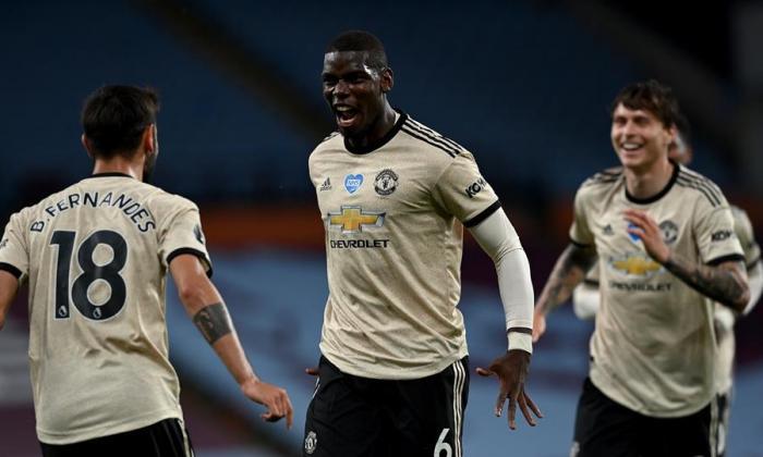 Pogba y Fernandes elevan a un Manchester United de 'Champions'