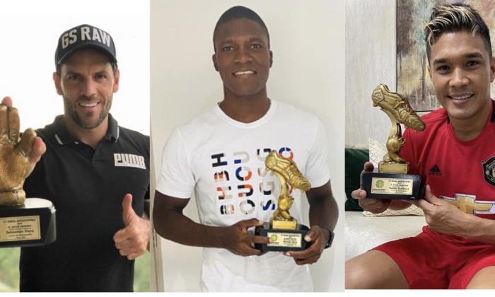 Cuatro jugadores de Junior reciben trofeos como mejores de 2019