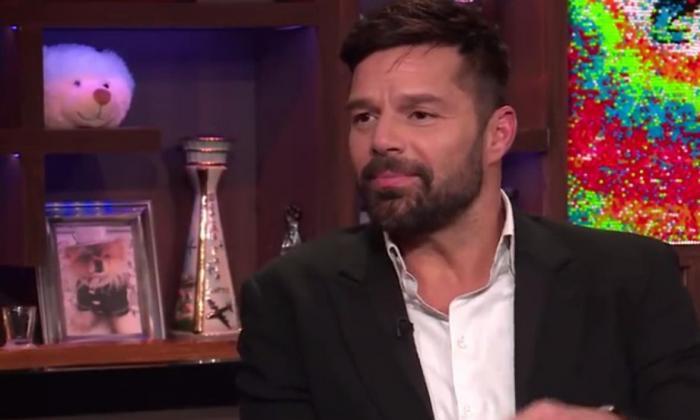 El cantante puertorriqueño, Ricky Martin.