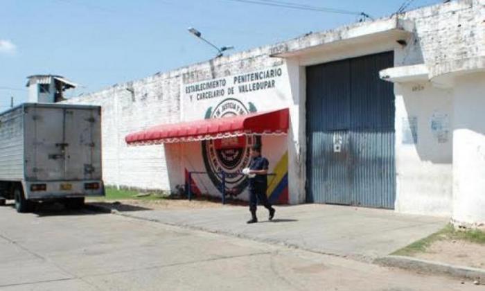 Cárcel Judicial de Valledupar.